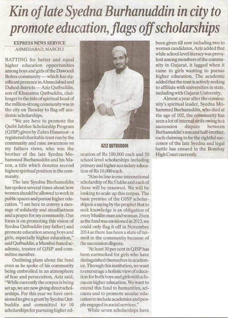The Indian Express_Ahm_Dr. Aziz Qutbuddin_04.03.15_Pg05